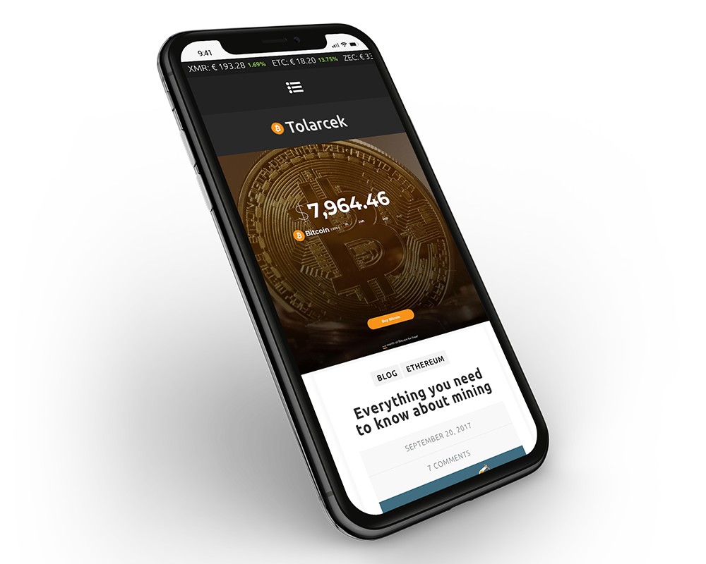 Tolarcek - A Bitcoin & CryptoCurrency WordPress Blog Theme - 3