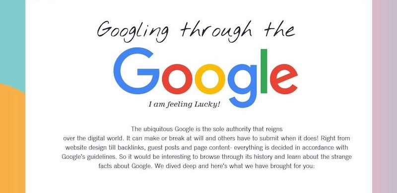 Google: The Story Behind Internet's Giant [Infographic]