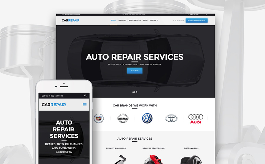19 Best Car & Motorcycle WordPress Themes for Your Speedy Site 2020