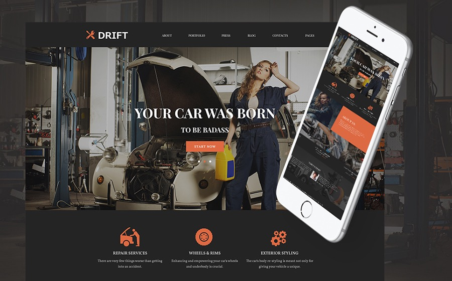 Best Car Service WordPress Theme