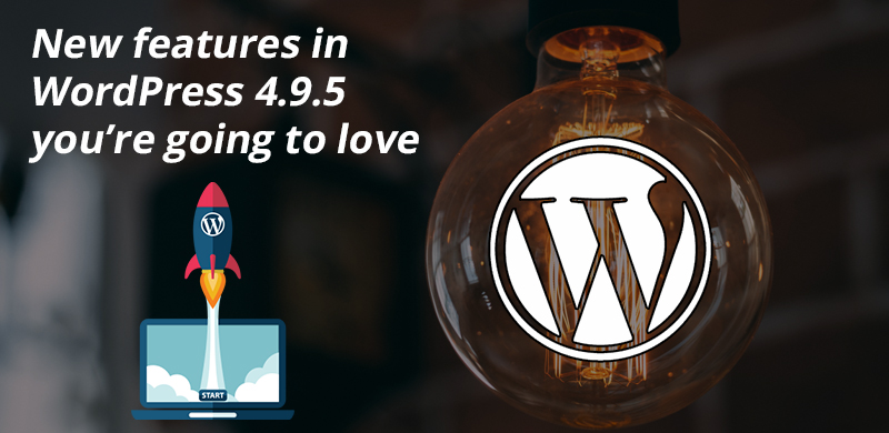 Top Commendable Features of WordPress 4.9.5 That People Will Love