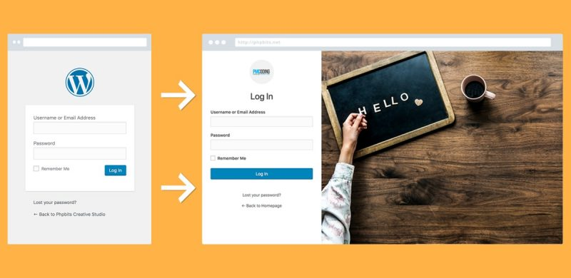 Create White Label WordPress Login Page For Better Branding
