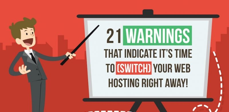 Signs of Bad web hosting