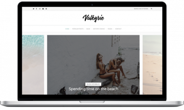Valkyrie – A Lifestyle WordPress Blog