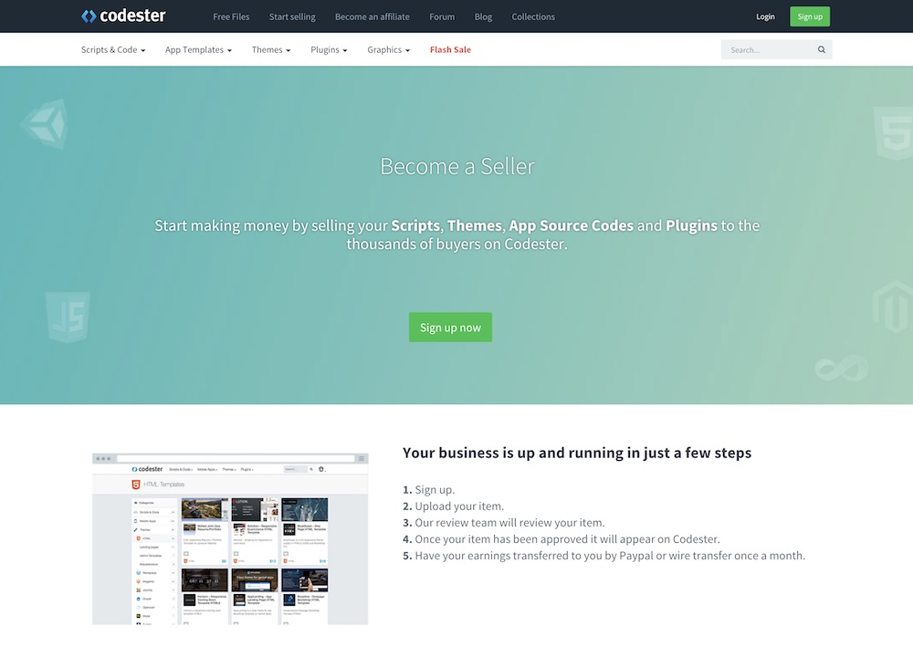 Codester Is A Marketplace For Every Web Developer