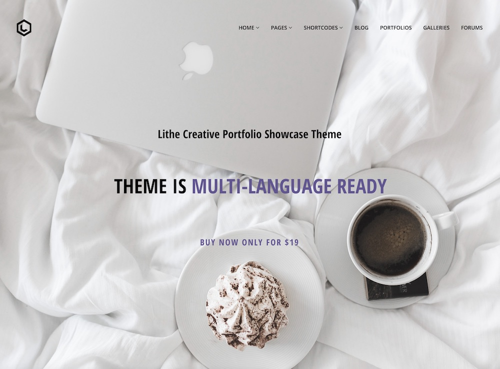 lithe cheap wordpress theme