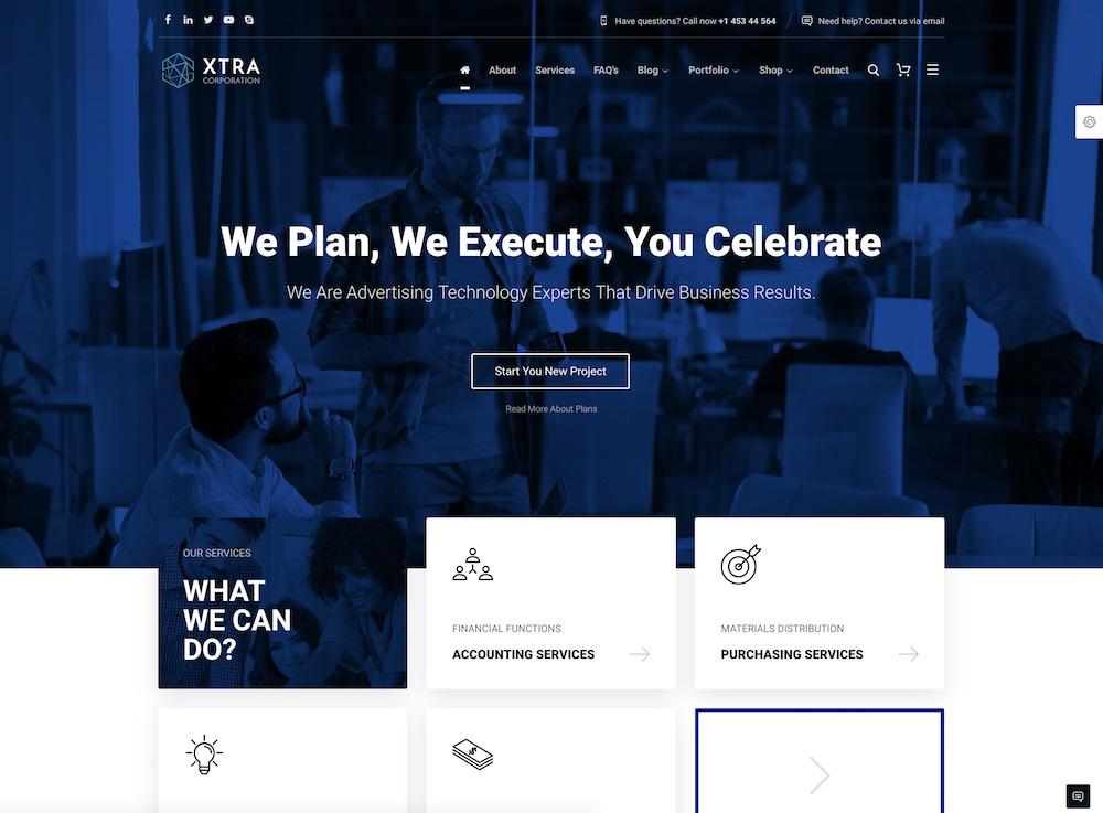 xtra cheap wordpress theme