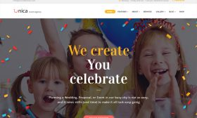 20 Best Party Making & Celebration Planning WordPress Themes