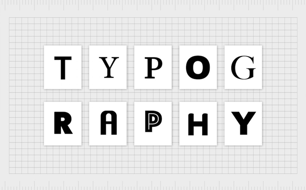 choosing the right typography that would attract customers