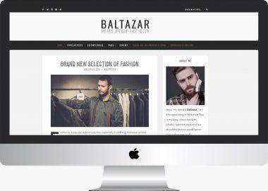 Baltazar Lite: A Free Gentleman's WordPress Blog