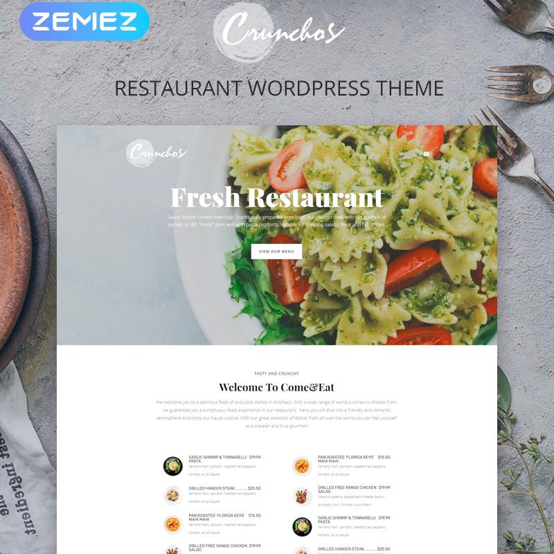 16 Best Cafe And Restaurant WordPress Themes 2019 - PremiumCoding