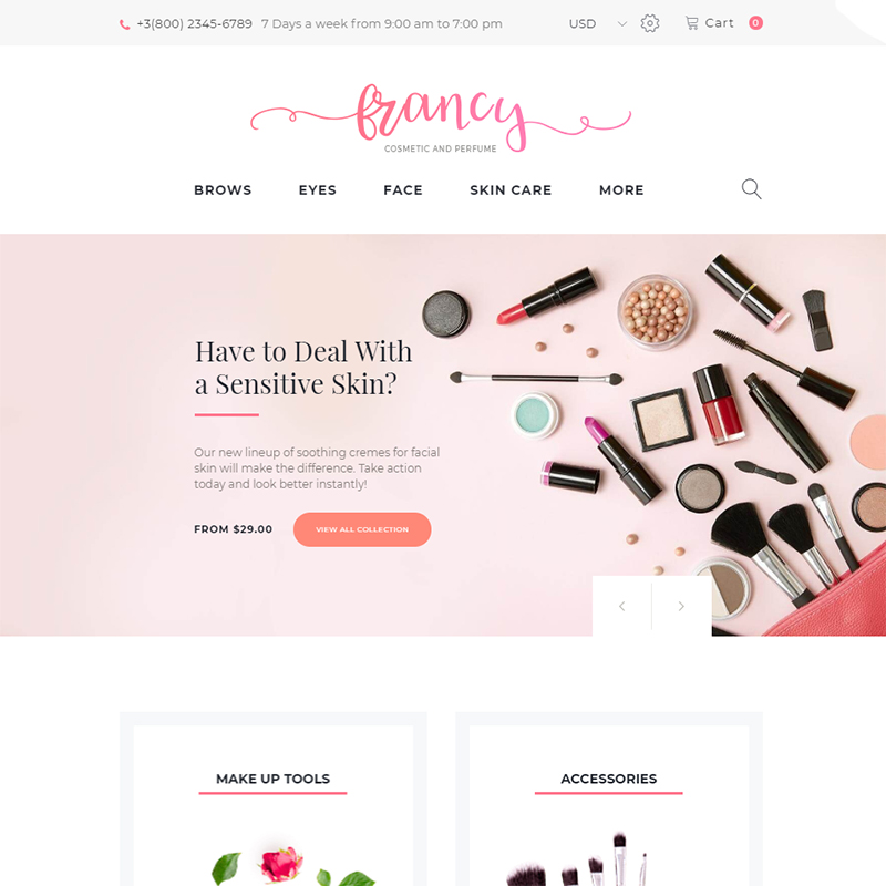 Top 10 Cosmetic Store Woocommerce Themes Premiumcoding
