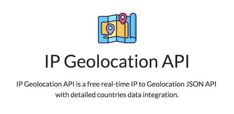free ip geolocation api