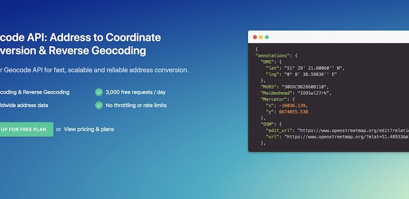 Geocode API For Reliable Address Conversion Tracking