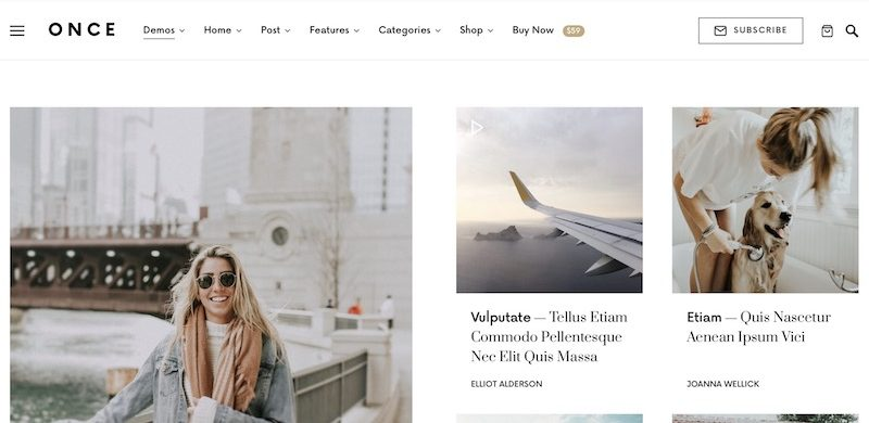 11 Best Personal Blog WordPress Themes 2019