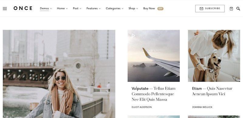17 Best Personal Blog WordPress Themes 2020