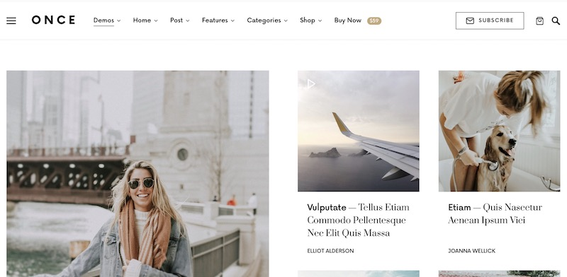 personal blog wordpress themes