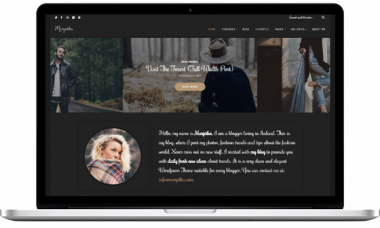 Marjetka – A Feminine WordPress Blog Theme