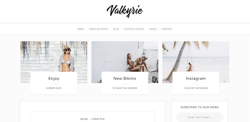 13 Minimalist WordPress Blog Themes 2020