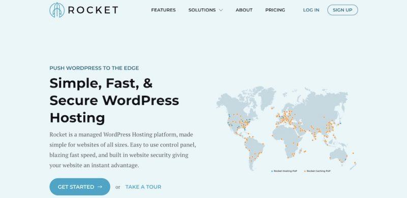 Rocket – Affordable & Powerful WordPress Hosting