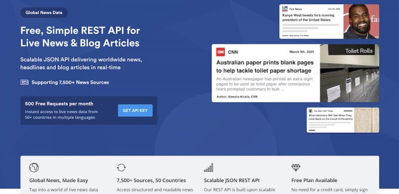 Mediastack Let's You Collect Live News & Articles