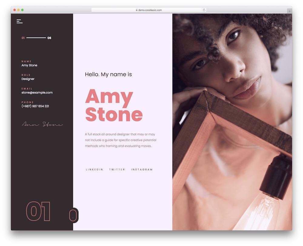 volos personal wordpress theme