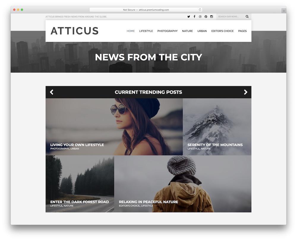 atticus theme